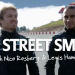 Allianz promotes road safety with Nico Rosberg & Lewis Hamilton